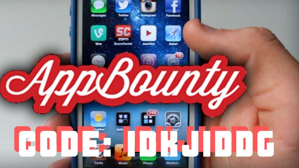 App bounty codes and referral invite codes for appbounty